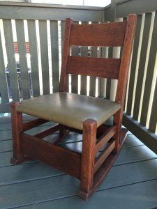 Gustav Stickley Rocking Chair