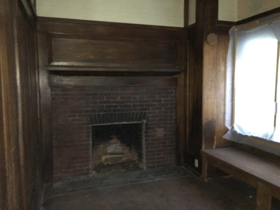 Inglenook - Gustav Stickley House