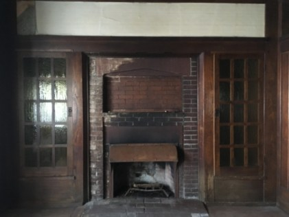 Gustav Stickley House Fireplace
