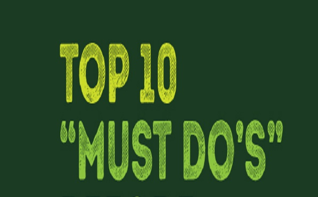 top10 must do's