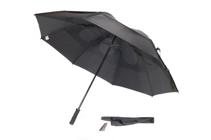 62'' Gustbuster golf umbrella_black