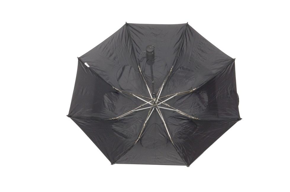 Gustbuster Metro umbrella black inside