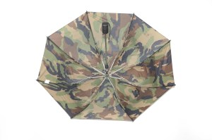 Gustbuster Metro windproof umbrella camo inside