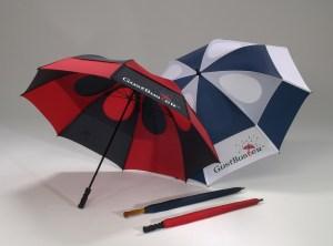 GustBuster windproof golf umbrella