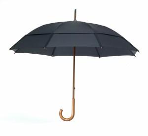 GustBuster Classic windproof umbrella black