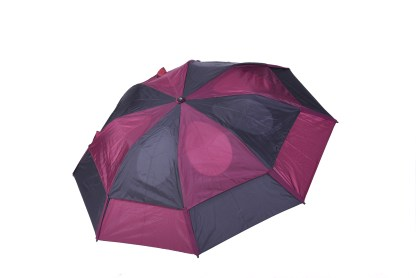 GustBuster Metro windproof umbrella burgundy black