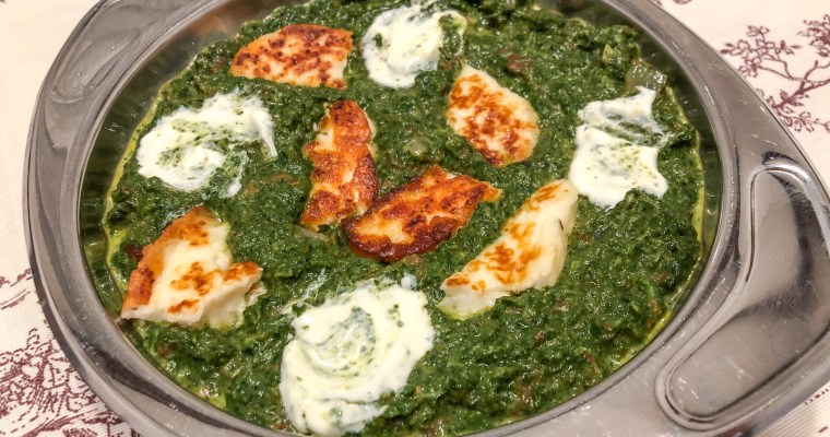 Palak Paneer Spinatcurry