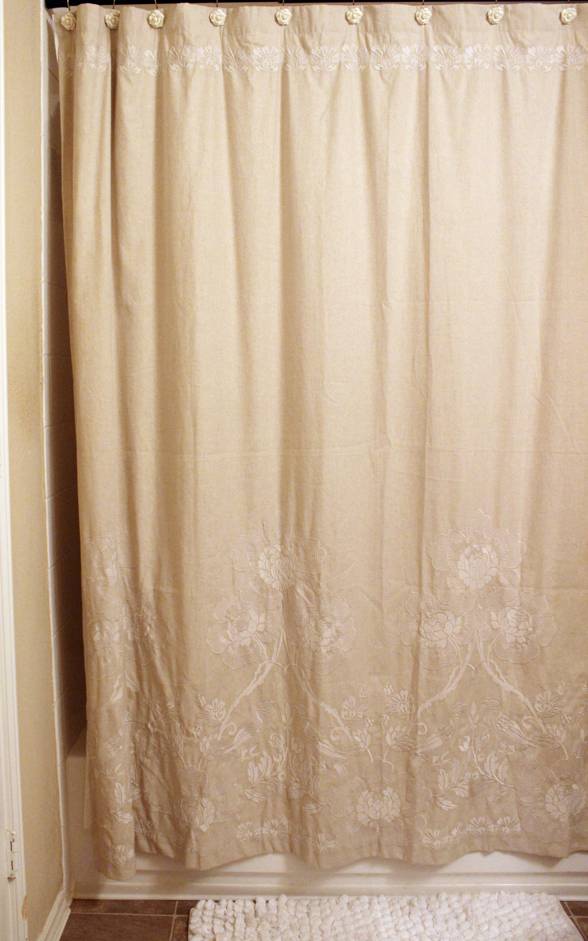 Anthropologie Shower Curtain