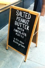 Jeni's Splendid Ice Cream Sandwich Board Charleston