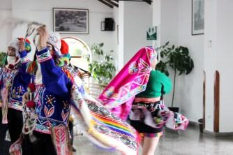 Belmond HIram Bingham Train Machu Picchu Peru Dancers