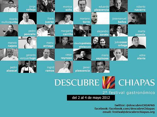 Descubre Chiapas a través de su Festival Gastronómico
