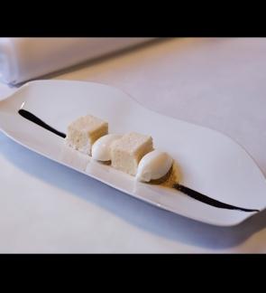 Bizcocho de Leche Yogur y Cereales vía Madrid Fusión