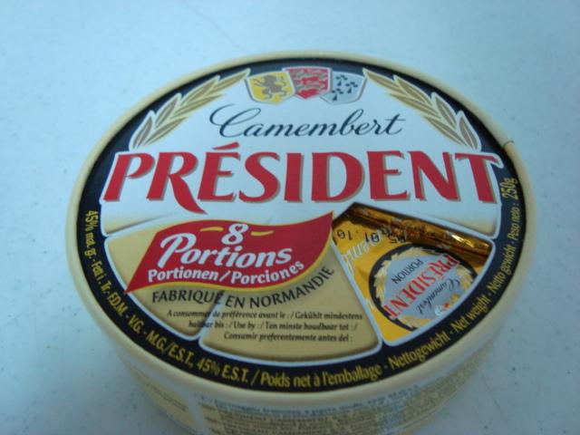 «Camembert Francés Président (snack bite)»