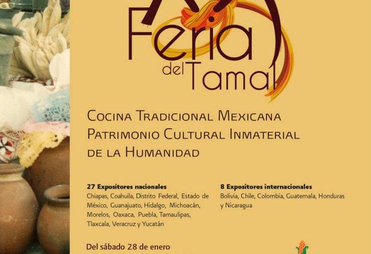 Entrevista Claudia Corral «XX Feria del Tamal» del 28 de Enero al 2 de Febrero evento único en México.