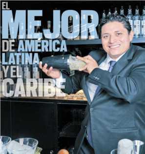 Crónicas detrás del Bar por Jesús Cabrera «Campeón Mixología de América Latina y Caribe».vía Revista Taste