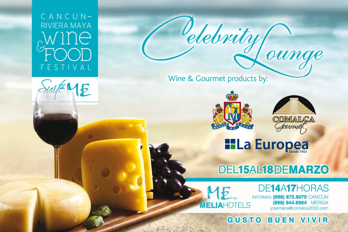 "Hotel ME en video sede Celebrity Lounge ""Cancún Wine & Food Festival"