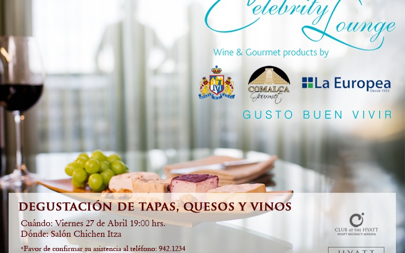 "Presentación ""Celebrity Lounge"" at Hyatt Mérida"