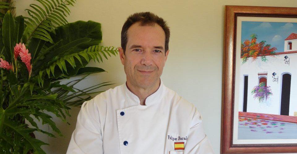 """Bienvenido """"Chef Felipe Barahona"""""""