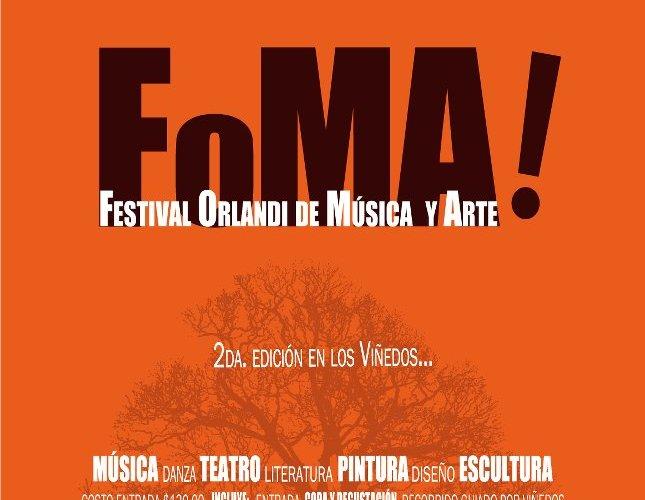 """Viñedos la Redonda @laredonda Presenta """"FOMA"""" 19 y 20 Mayo 2012"""