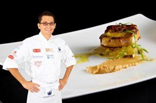 """Chef Xavier Pérez Stone @xabirones Ganador """"Cocinero Año 2012"""" @cocineromexico"""