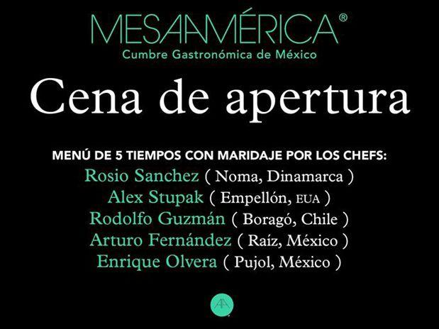 "Hotel St. Regis @TheStRegisMC sede ""Cena Apertura MesaAmérica"" @mesamerica_mx"