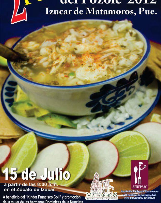Feria del Pozole 15 de Julio, en Izucar de Matamoros, Puebla #cocinamexicana