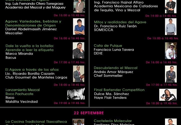 Programa Agave Fest @AgaveFest del 20 al 22 Septiembre 2012 WTC Ciudad de México