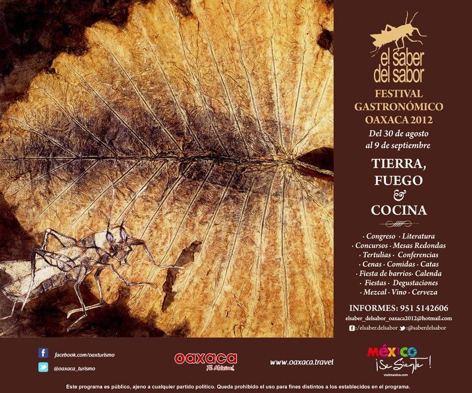 El Saber del Sabor Festival Gastronómico Oaxaca 2012 @saberdelsabor @oaxaca_turismo