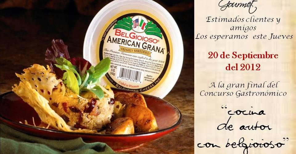 """Comalca Gourmet invita a seguir transmisión en vivo Gran Final """"Cocina de Autor con Belgioioso"""""""