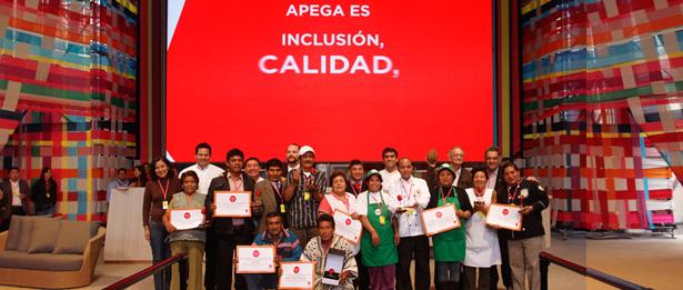 Conoce APEGA Sociedad Peruana de Gastronomía @MisturaPeru