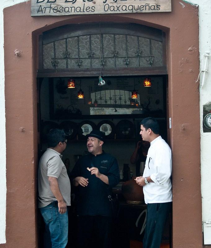 Museo de las Nieves Artesanales @manolonieves visita obligada en Oaxaca @saberdelsabor #FESS2012
