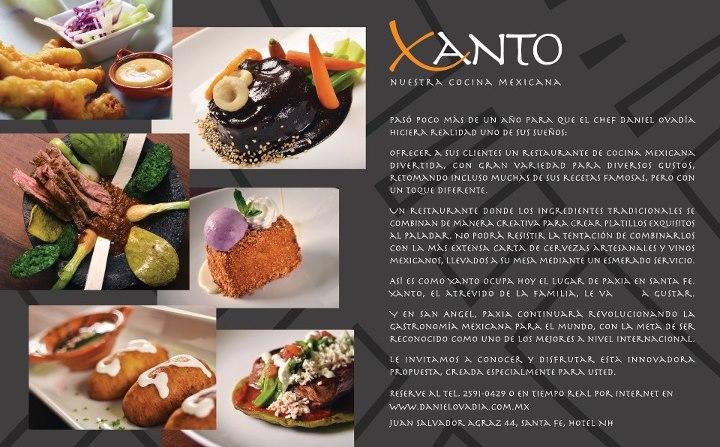 Conoce Xanto «Nuestra Cocina Mexicana» by Chef @Daniel_Ovadia