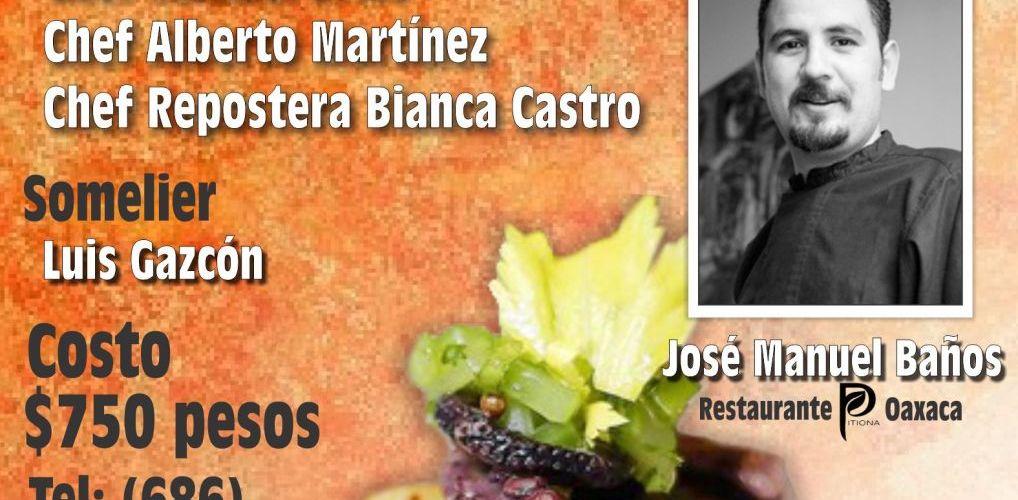 Baja California Culinary Fest 2012 @BCCulinaryfest Chef Invitado José Manuel Baños @manolopitiona13 Octubre