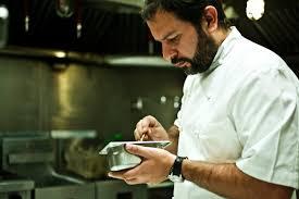 Taller de cocina con Enrique Olvera @enriqueolvera – Dorado zarandeado con chapulines