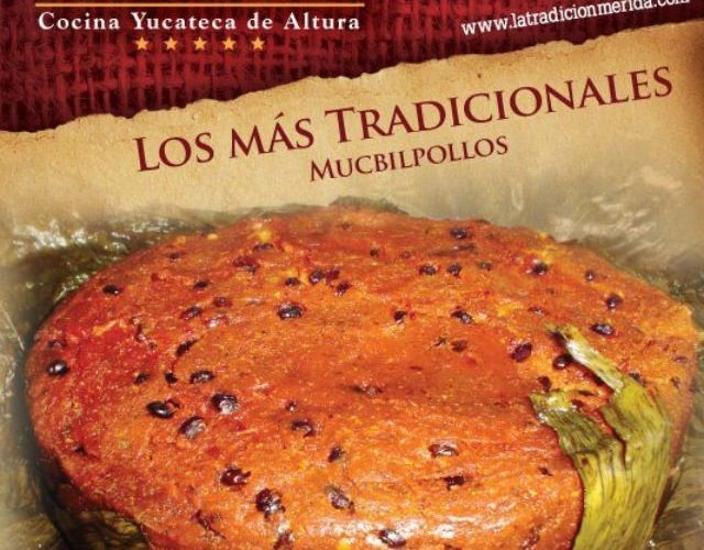 """Los más Tradicionales Mucbilpollos en """"La Tradición"""" Mérida  @chefDcm"""