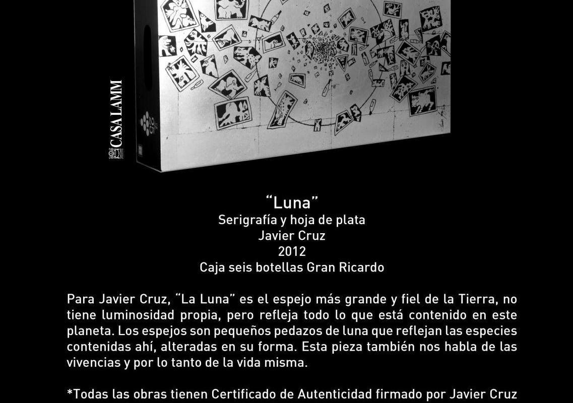 """Conoce caja conmemorativa titulada """"Luna"""" 25 Aniversario de Monte Xanic @Monte_Xanic"""