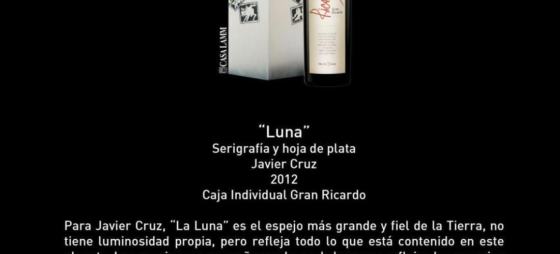 """Conoce caja individual titulada """"Luna"""" 25 Aniversario de Monte Xanic @Monte_Xanic"""