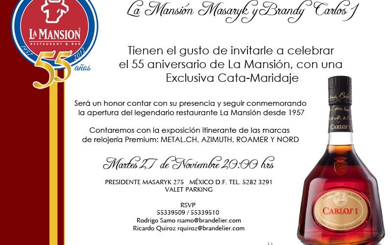 La Mansión Masaryk y Carlos I Festejaron los 55 años de La Mansión