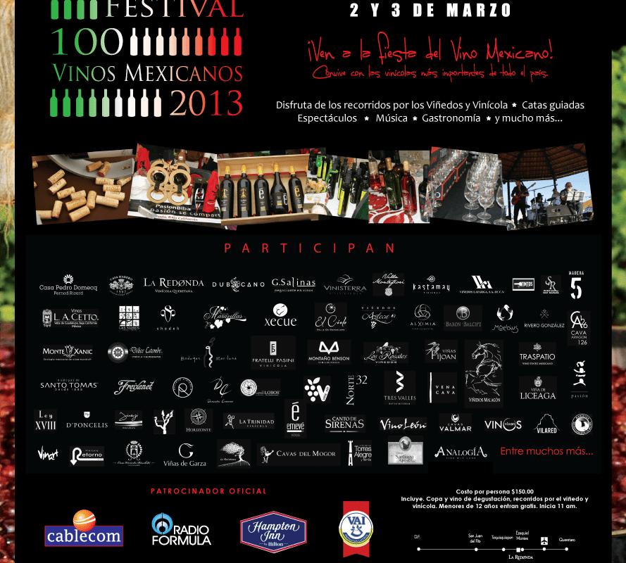 Festival 100 Vinos Mexicanos presenta su cuarta edición este 3 y 4 de Marzo Viñedos La Redonda @laredonda