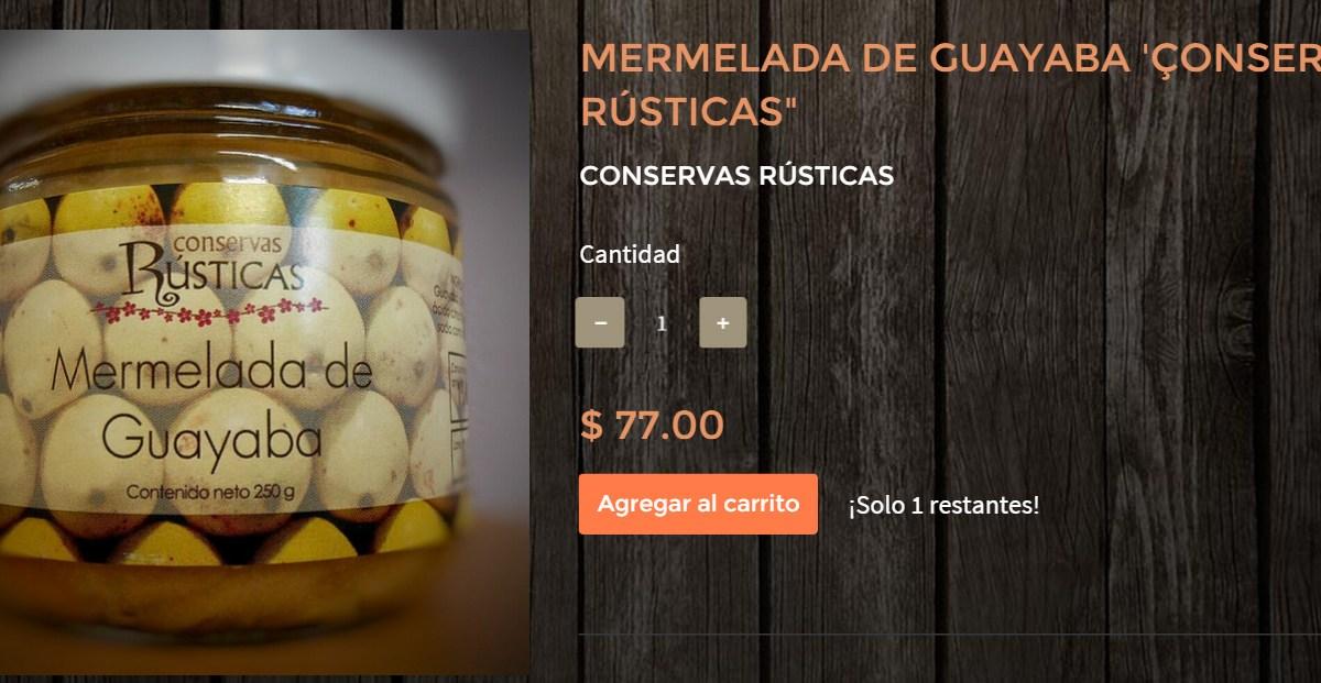 """Gourmands Market Mermelada de Guayaba """"Conservas Rústicas"""" @ConservasRustic"""