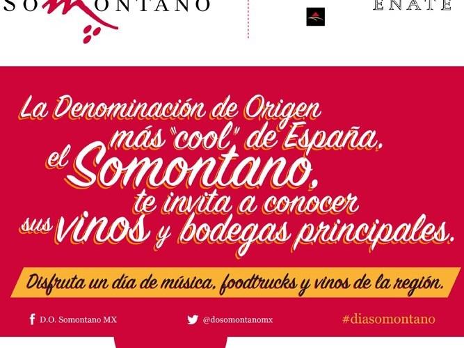 El Día DO Somontano al región más «cool» de España. @dosomontanomx @selloMStudio @Sandravinos
