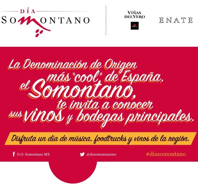 """El Día DO Somontano al región más """"cool"""" de España. @dosomontanomx @selloMStudio @Sandravinos"""