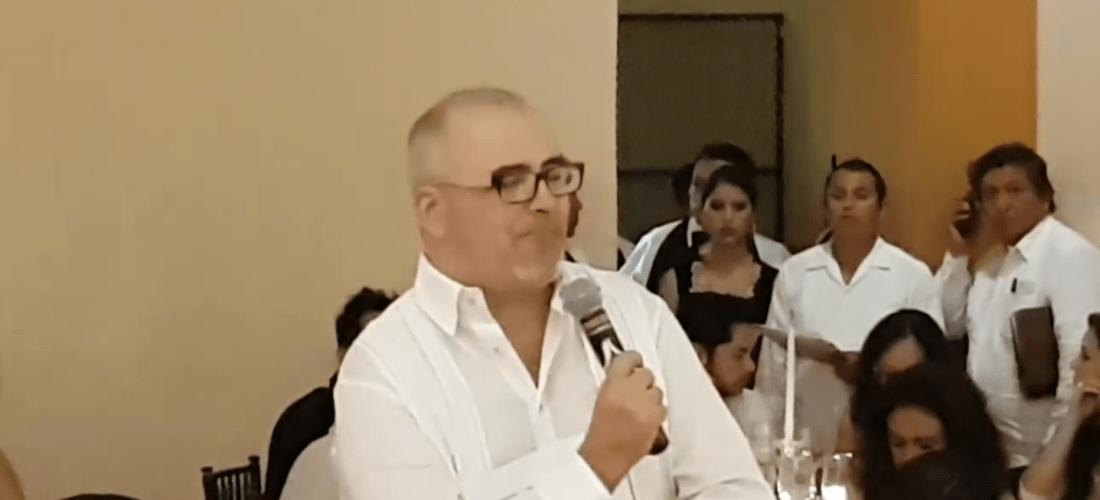 En video palabras de agradecimiento Chef Patrick Cros @patrickcrosc #ConviteGourmet #Campeche #MéxicoGourmet #GustoBuenVivir