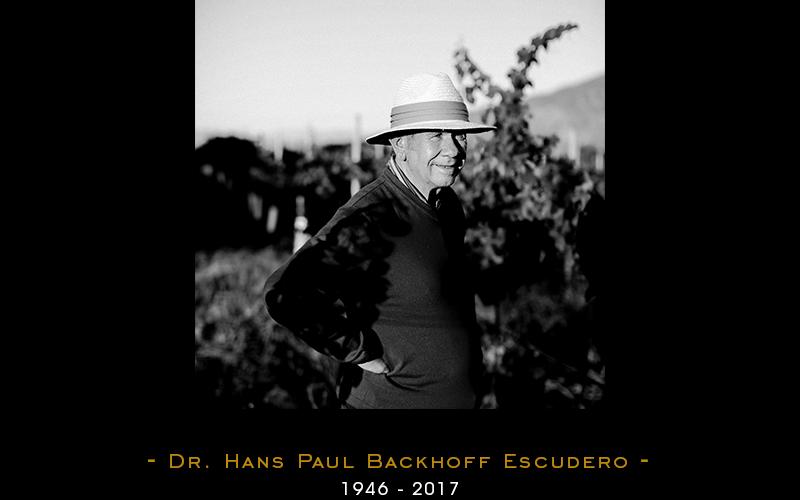 Sensible fallecimiento del Enólogo Dr. Hans Backhoff Escudero @Monte_Xanic