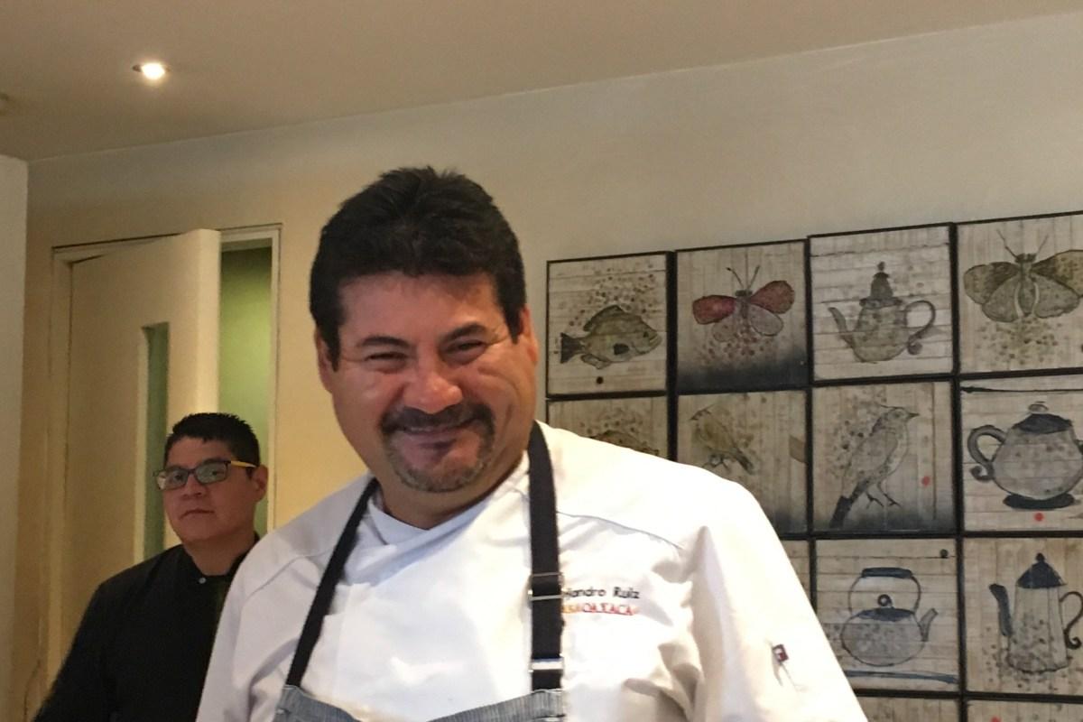 Un Chef carismático con todo el sazón y corazón que se pueda tener.
