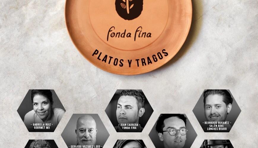 Fonda Fina recibe a Gerardo Vázquez Lugo, Gabriela Ruiz, Lucho Martínez y Bernardo Bukantz para celebrar su segundo aniversario