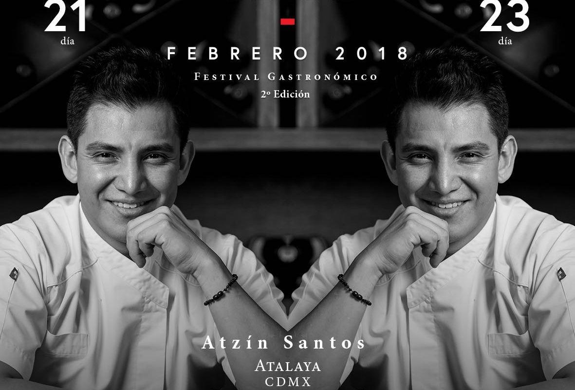 El chef @chefatalaya del Restaurante @atalayamexico te invita al #FestivalClubSibarita @clubsibaritamx