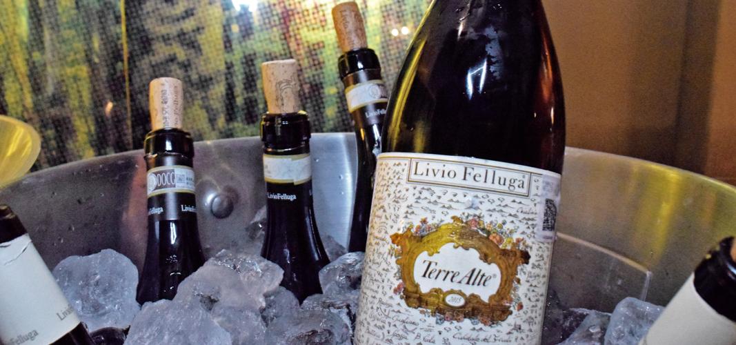 Los vinos de @LivioFellugaCo presentes en México #wine