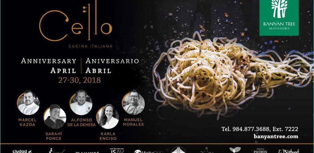 Aniversario Cello Cucina Italiana @Banyan_Tree