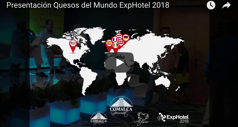 Presentación de Quesos del Mundo by @ComalcaGourmet en #ExpHotel2018